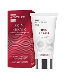 EMOLIUM SKIN REPAIR dermonaprawczy Krem do Stóp 100ml