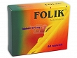 Folik  0,4 mg 60 tabl.